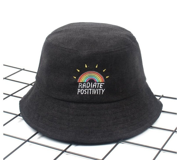 Radiate Positivity Bucket Hat
