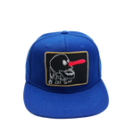 6 PANELS JAWS KIDS CAP - BLUE-BLACK