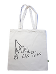TOTE BAG TWO LOGOS - NATURAL