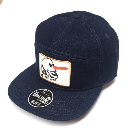 WEDGE CAP - DENIM