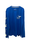 M.U.L.T.I.L.O.G.O. LONG SLEEVE TEE - BLUE