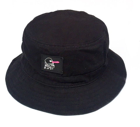 NOOSA BUCKET HAT - BLACK