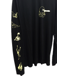M.U.L.T.I.L.O.G.O. LONG SLEEVE TEE - BLACK