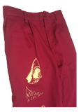 K.A.I.N. WORK PANTS - BURGUNDY