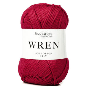Fiddlesticks Wren Red