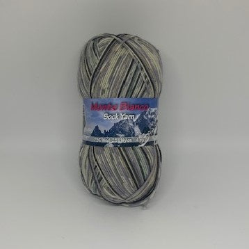 Monte Bianco 4ply Sock Yarn Colour 509