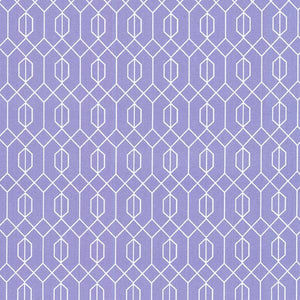 Elderberry Geo Fabric Lavender