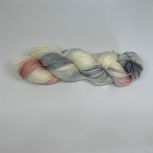 Salty Sock 4 ply Yarn Elsie Gray