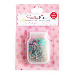 Lori Holt Pretty Pins - 100 Sewing Pins