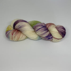 Salty Sock 4 ply Yarn Mother of Pearl
