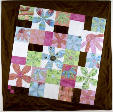 Hot Possum Chelsea Bloom Lap Quilt Pattern