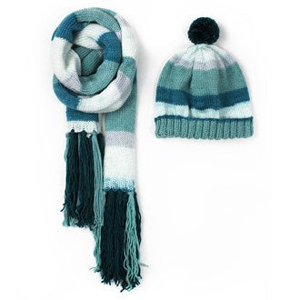 Superb Family Beanie & Scarf Pattern