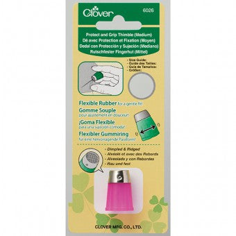 Clover Protect & Grip Thimble Medium