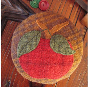 She'll Be Apples Pincushion Applique Kit