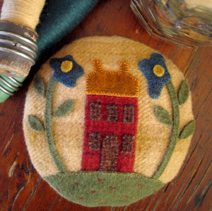 Home Sweet Home Pincushion Applique Kit