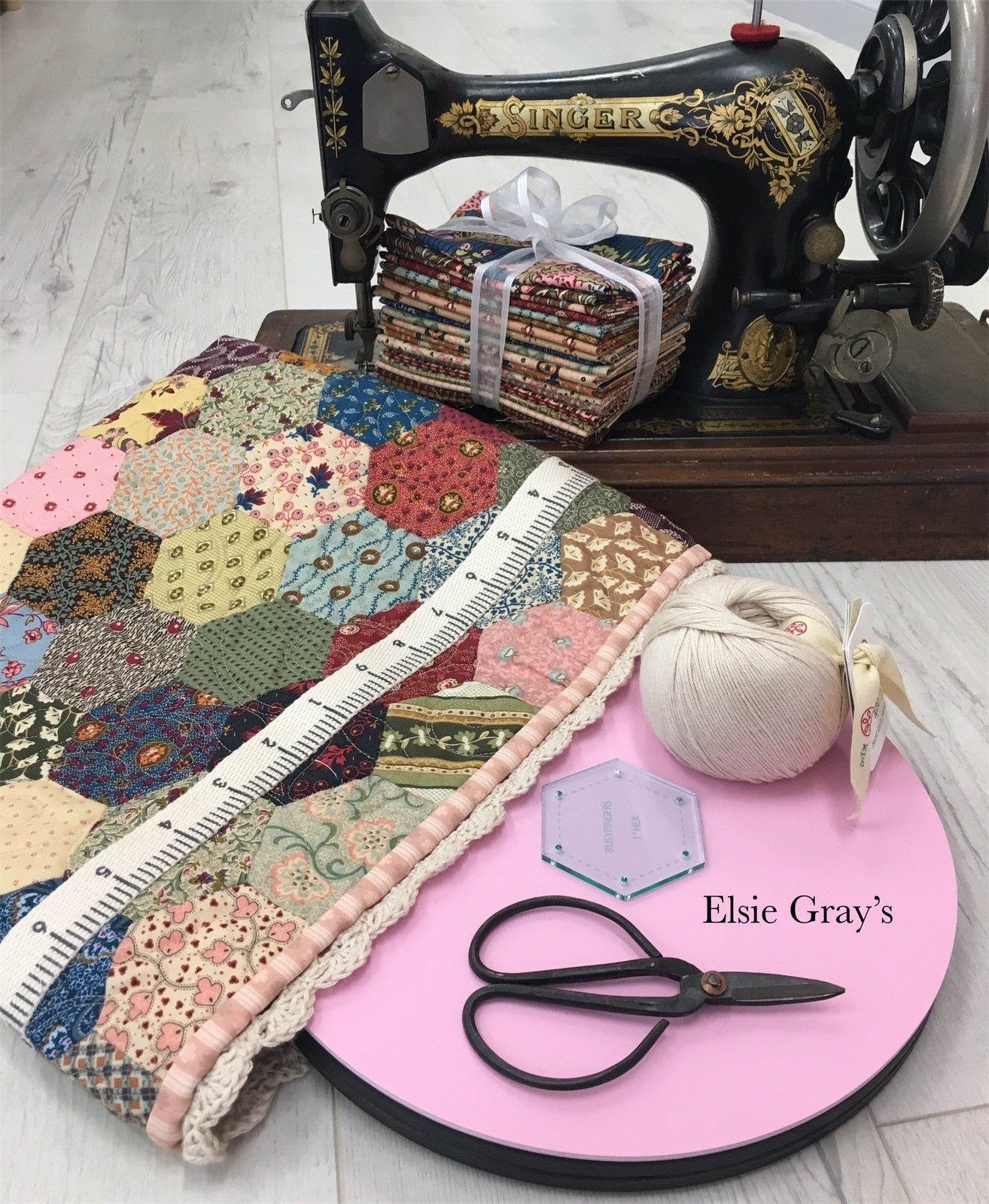 Elsie Project Bag Kit - Reproduction