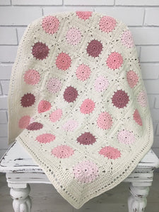 Pretty in Pink Crochet Blanket Pattern