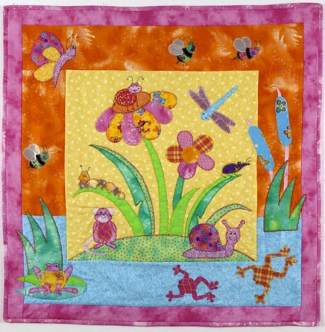 Hot Possum Bugs Delight Cot Quilt Pattern
