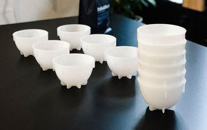 the cupping bowls