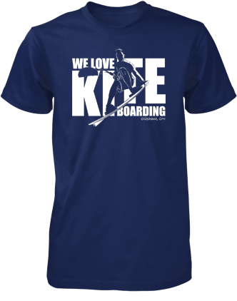 We Love Kiteboarding Short Sleeve T-Shirt (Men's) - COVID-19 Special Edition