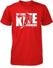 Load image into Gallery viewer, We Love Kiteboarding Short Sleeve T-Shirt (Men's)