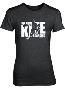 We Love Kiteboarding Short Sleeve T-Shirt (Woman's) - COVID-19 Special Edition