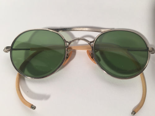Vintage Bausch & Lomb 1940s Safety Glasses Steam Punk Style