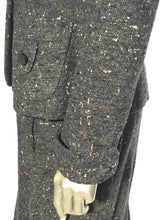 1950s Woman's 2 Piece Suit Grey Flecked Wool Suit By Betty Rose