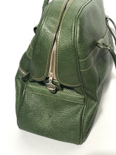 Vintage Green Duffle Travel Accessories Tote By Skyway
