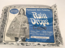 Vintage Polka Dot Rain Poncho & Bonnet Set By Rain Drops