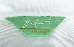 Men's Polyester 1970s Baby Blue Joe Namath Disco Shirt Size Medium RENTAL