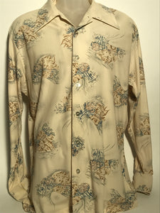 Grants Men's Wear Castle Scene Size Extra Large Disco RENTAL XL809