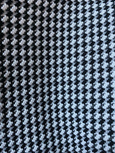 "Black & White Polyester Vintage Houndstooth Men Pants - Plaid 34"" x 32"""