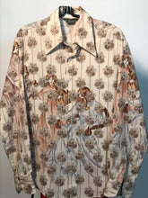 The Muses Men's 1970s Disco Shirt Size Medium By Chemise Et Cie RENTAL