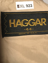1970s Haggar Tan Leisure Jacket Size 44 Extra Large RENTAL XL923