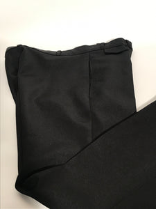 "Angel Flight Black Disco Flare Pants 33"" x 35"" RENTAL"