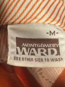 Vintage Montgomery Ward Men's Disco Shirt Size Medium RENTAL