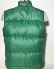 1980s Kelly Green Vintage North Face Down Vest Size XS