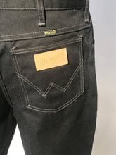 "Vintage Men's Black Wrangler Pants Size 33"" Waist"