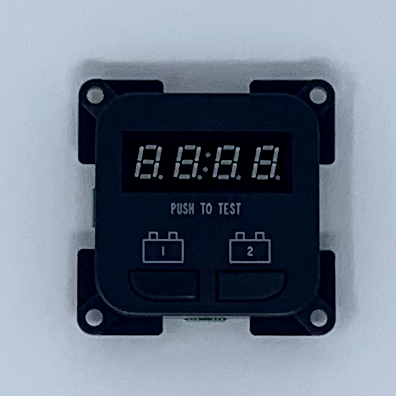 TV Point/Twin Battery Monitor Set