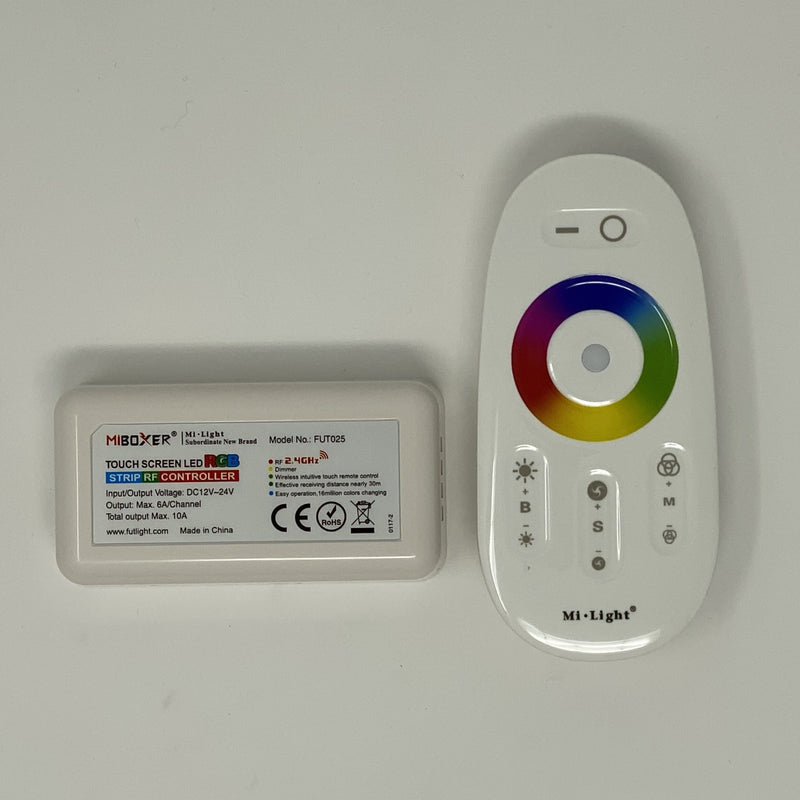 LED 2.4G RGBW Touch Sensitive Wheel Controller