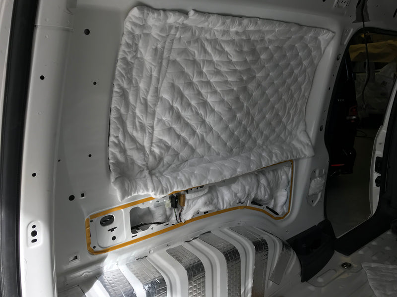 Small Van Pack B: 2/3 Season Insulation & Sound Deadening