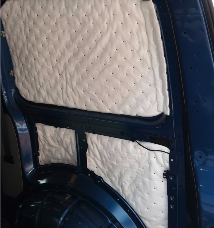 Large Van Pack C: 3/4 Season Insulation & Sound Deadening