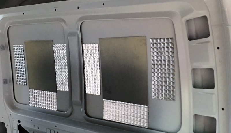 Medium Van Pack A: 1/2 Season Insulation & Sound Deadening
