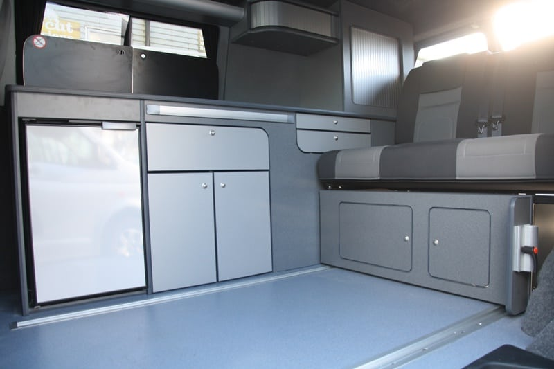 1-Piece Floor with Altro Colours - VW T5/6 SWB