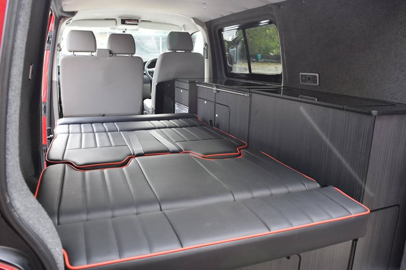 Rusty Lee Rock & Roll Bed Seat for Modern Vans - TUV Approved!