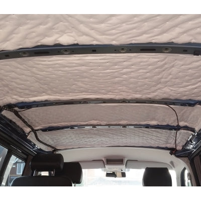Small Van Pack C: 3/4 Season Insulation & Sound Deadening