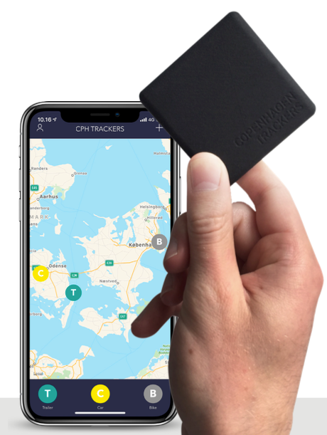 Cobblestone GPS Tracker - No Monthly Fee!