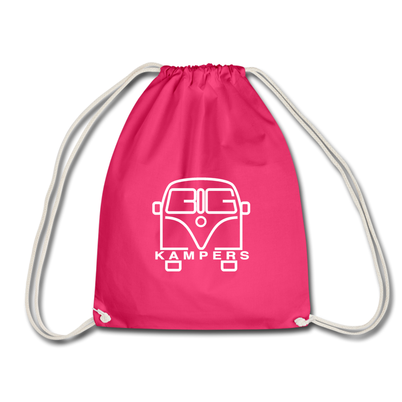 Drawstring Bag - fits our mains hookup leads & more! - fuchsia