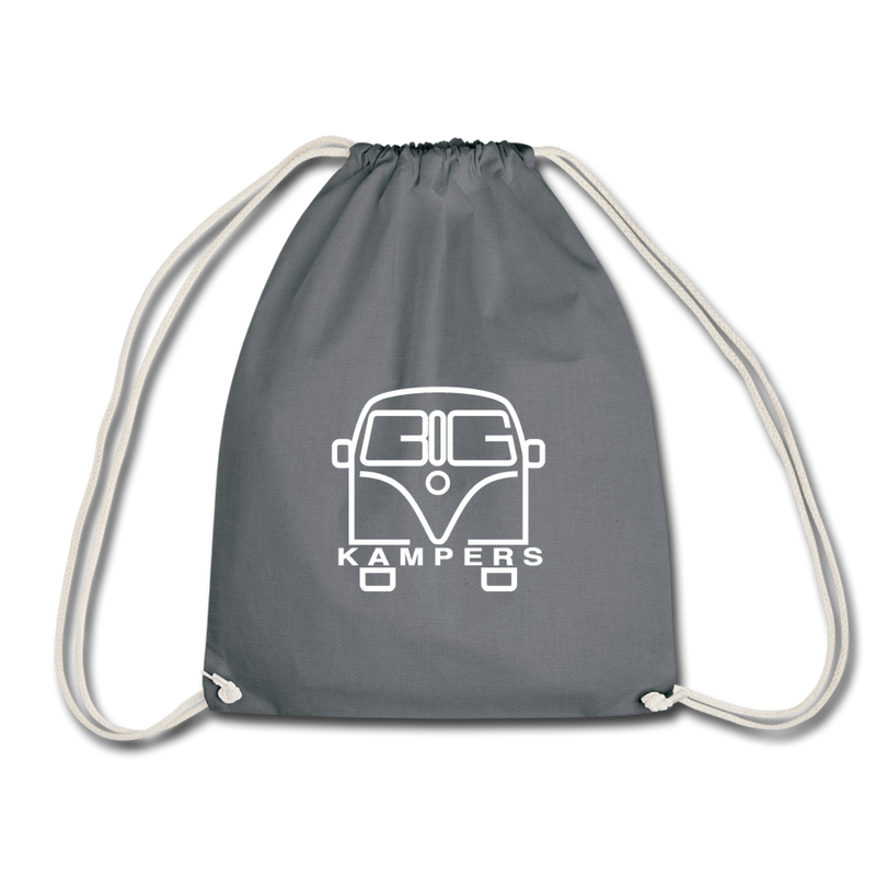 Drawstring Bag - fits our mains hookup leads & more! - grey